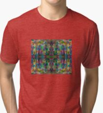 The Jungle Protector gorgeous vibrant intricate ink design Tri-blend T-Shirt