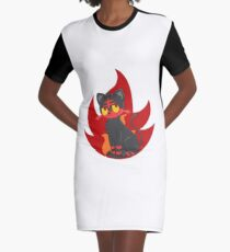 Litten Graphic T-Shirt Dress