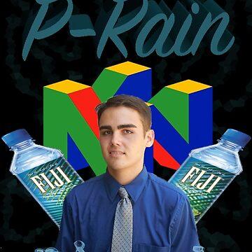P-rain Fiji Print by SamuraiParks