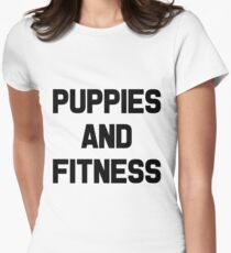 Puppies and Fitness T-Shirt