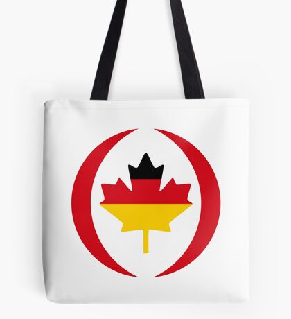 German Canadian Multinational Patriot Flag Series Tote Bag