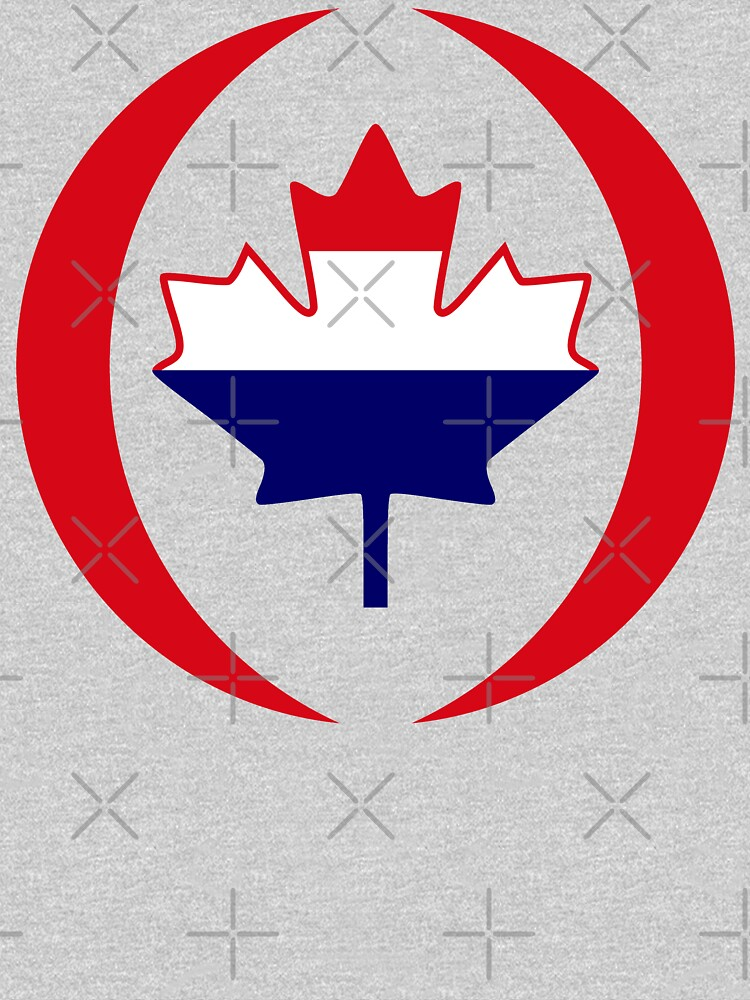 Dutch Canadian Multinational Patriot Flag Series by carbonfibreme