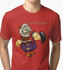 Plants vs Zombies The World Is Mine  Tri-blend T-Shirt