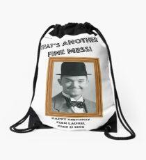 Stan Laurel Birthday Anniversary Drawstring Bag