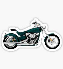 Comfort cruiser motorbike Sticker