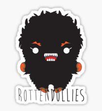 Rotten Dollies - Big Foot Sticker