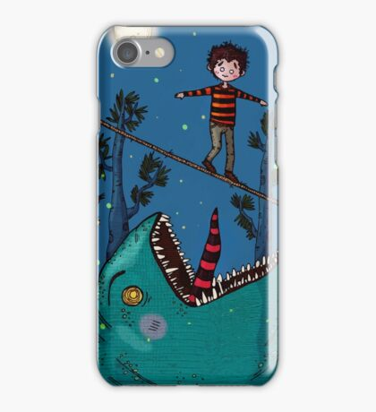 The Tightrope Walker iPhone Case/Skin