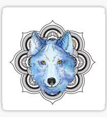 Winnie Blue  Sticker