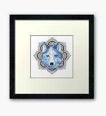Winnie Blue  Framed Print