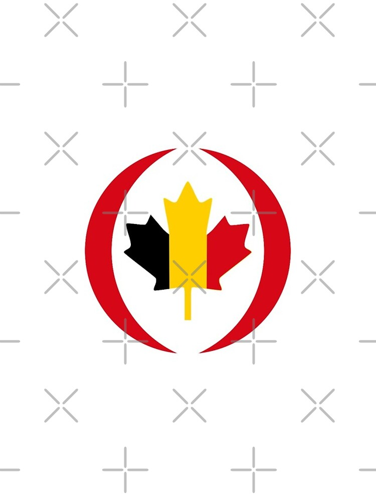 Belgian Canadian Multinational Patriot Flag Series by carbonfibreme