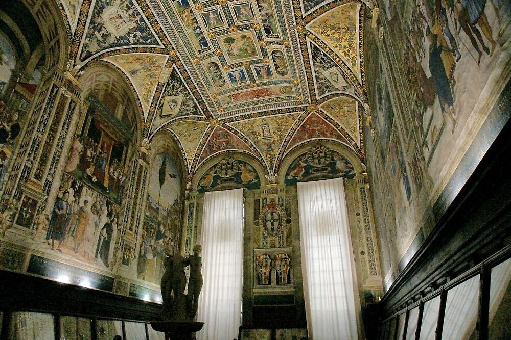 Siena Duomo by Harry Oldmeadow
