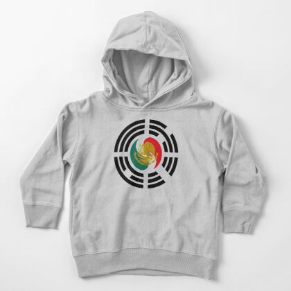 Korean Mexican Multinational Patriot Flag Series Toddler Pullover Hoodie