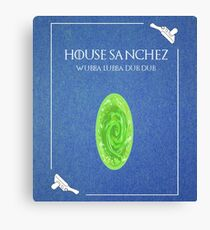 House Sanchez Canvas Print