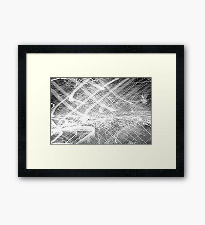 Amongst the Chaos Framed Print