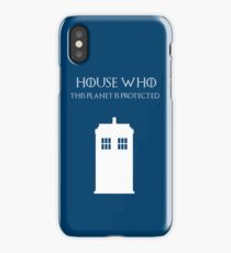 House Who iPhone Case
