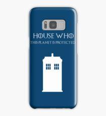 House Who Samsung Galaxy Case/Skin