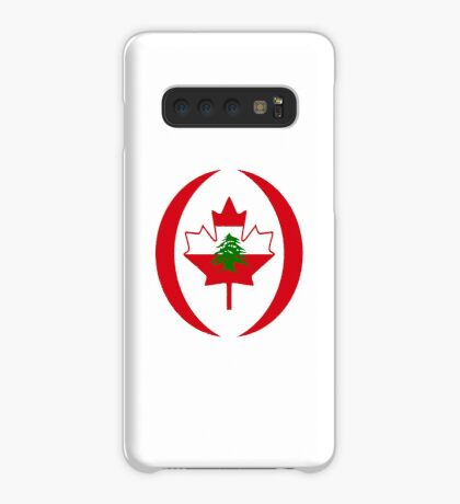 Lebanese Canadian Multinational Patriot Flag Series Case/Skin for Samsung Galaxy