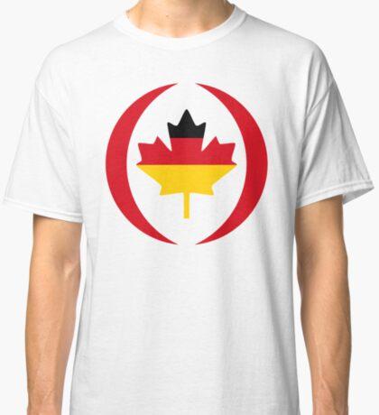 German Canadian Multinational Patriot Flag Series Classic T-Shirt