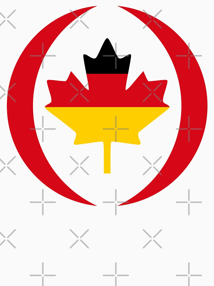 German Canadian Multinational Patriot Flag Series by carbonfibreme