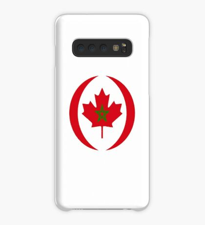 Moroccan Canadian Multinational Patriot Flag Series Case/Skin for Samsung Galaxy