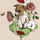 Puppy Bouquet by micklyn