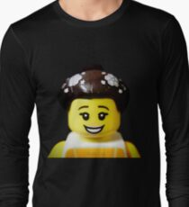 The Ballerina has come to Aaron's Lego Long Sleeve T-Shirt