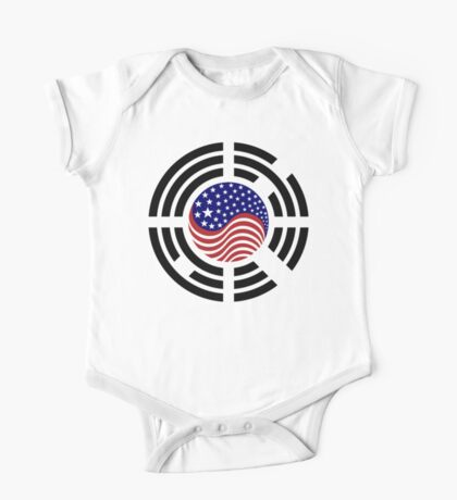 Korean American Multinational Patriot Flag Series 4.0 Kids Clothes