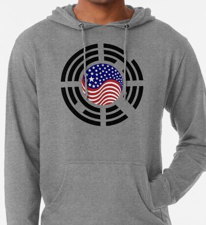Korean American Multinational Patriot Flag Series 4.0 Lightweight Hoodie