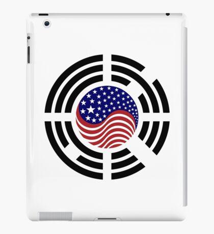 Korean American Multinational Patriot Flag Series 4.0 iPad Case/Skin