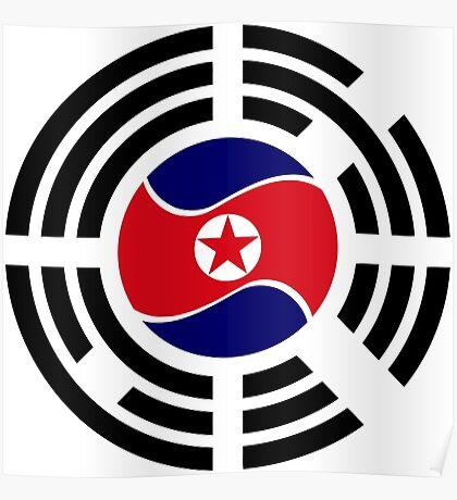 Korean Unity Flag  Poster