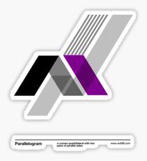 Paralellogram // Sticker