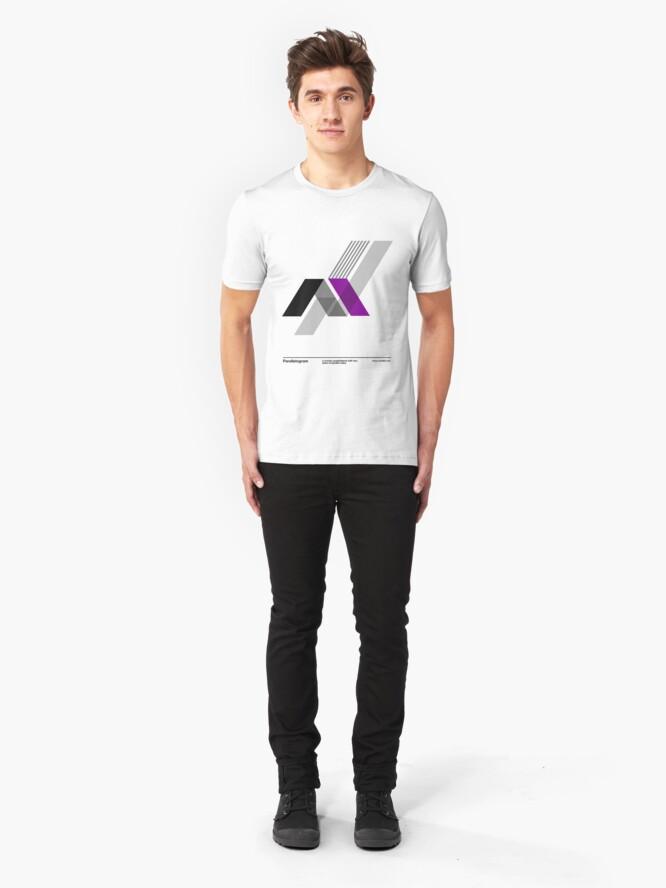 Alternate view of Paralellogram // Slim Fit T-Shirt