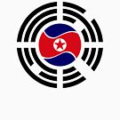 Korean Unity Flag  by Carbon-Fibre Media