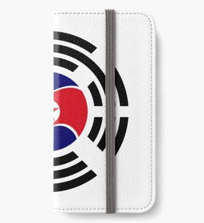 Korean Unity Flag  iPhone Wallet