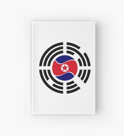 Korean Unity Flag  Hardcover Journal