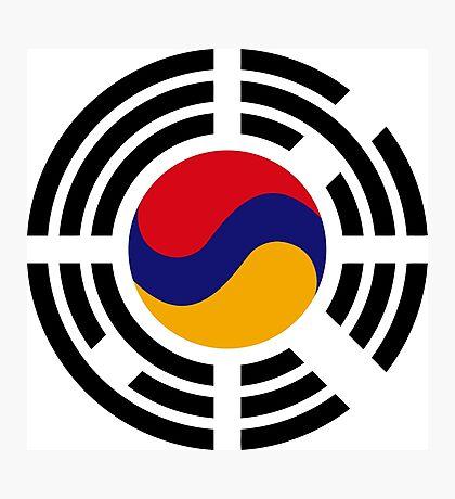 Korean Armenian Multinational Patriot Flag Series Photographic Print