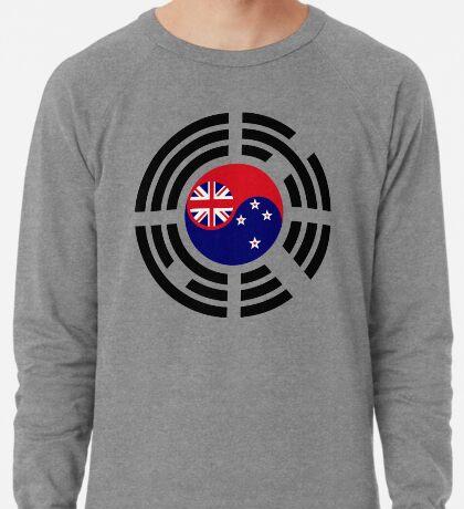 Korean Kiwi (New Zealand) Multinational Patriot Flag Series Lightweight Sweatshirt