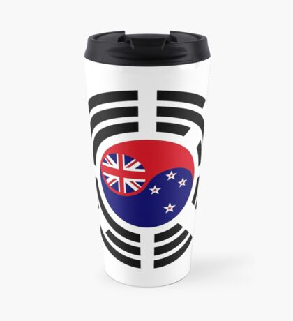 Korean Kiwi (New Zealand) Multinational Patriot Flag Series Travel Mug