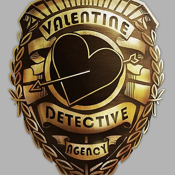 Valentine Detective Agency Gold by lolliegag
