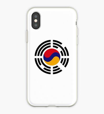 Korean Armenian Multinational Patriot Flag Series iPhone Case
