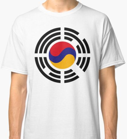 Korean Armenian Multinational Patriot Flag Series Classic T-Shirt
