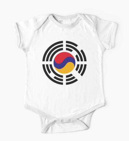 Korean Armenian Multinational Patriot Flag Series Kids Clothes