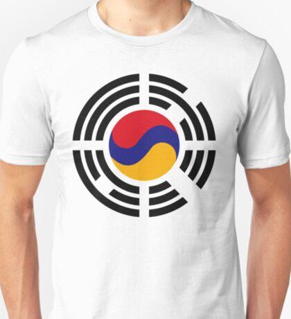 Korean Armenian Multinational Patriot Flag Series T-Shirt