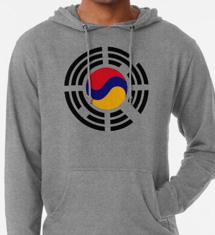 Korean Armenian Multinational Patriot Flag Series Lightweight Hoodie