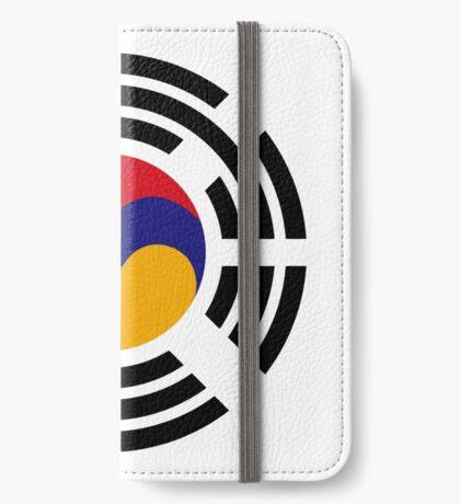 Korean Armenian Multinational Patriot Flag Series iPhone Wallet