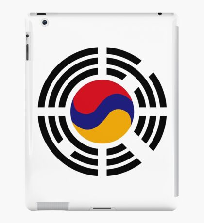 Korean Armenian Multinational Patriot Flag Series iPad Case/Skin