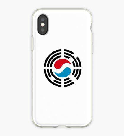 Korean Luxembourg Multinational Patriot Flag Series iPhone Case