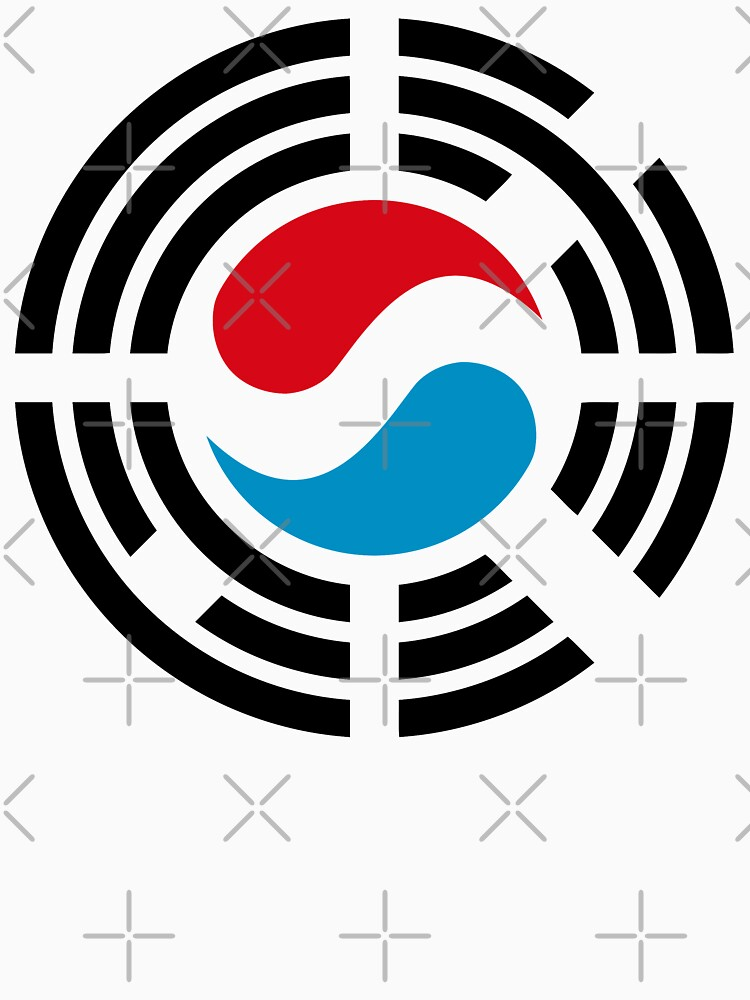Korean Luxembourg Multinational Patriot Flag Series by carbonfibreme