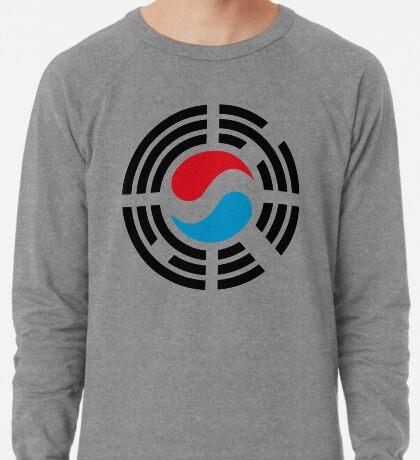 Korean Luxembourg Multinational Patriot Flag Series Lightweight Sweatshirt