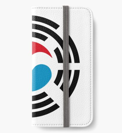 Korean Luxembourg Multinational Patriot Flag Series iPhone Wallet